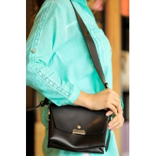 Women's Black Shoulder Bag
