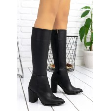 Women's Black Long Boots