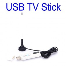 Wholesale Digital Satellite DVB T2 USB TV Stick Tuner with Antenna Remote HD TV Receiver for DVB-T2/DVB-C/FM/DAB