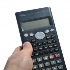 DL-1710 Big Display 10+2 Digit Scientific Electronic Desktop Slide Calculator