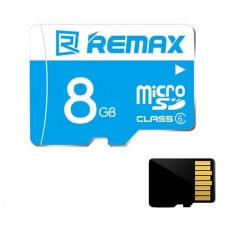 REMAX 8GB MicroSD TF TransFlash Memory Card for Smart Phone/ Camera