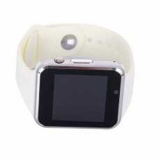 A1 Bluetooth Wristwatch Smart Watch Sport Pedometer With SIM Camera for Android Smartphone - White