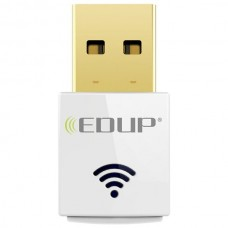 EDUP EP-AC1619 Dual-band 2.4G / 5.8Ghz AC600Mbps Mini Wireless USB Wifi Network Card Adapter - White