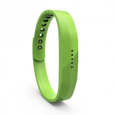 Lot Rubber Replacement Band Strap Activity Bracelet No Tracker Wristband with Metal Clasp for Fitbit Flex 2 - Green