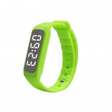 CD5 Fitness Tracker Smartwatch Bracelet Accurate 3D Pedometer Smart Wristband Bracelet Monitor Temperature Sleep for Smartphones - Green