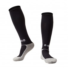 1 Pair of Children Thicken Cotton Footbed Knee High Socks Loom Sock Compression Soft Football Socks
