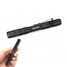 Quarice QR-R7 Portable Waterproof One Mode Tactical LED Flashlight Pen Light CREE XP-E2 LED 500LM Pocket Torch - Black