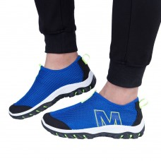 Mens Summer Breathable Mesh Sports Flats Shoes