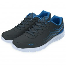 Stylish Color Block Lace Up Male Breathable Sports Shoes