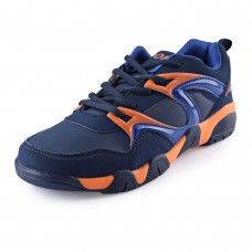 Stylish Color Block Lace Up Men Breathable Shoes