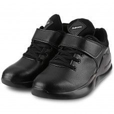 Casual Pure Color Magic Tape Lace Up Male Platform Sports Shoes
