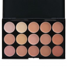 15 Colors Professional Salon Party Contour Makeup Concealer Palette