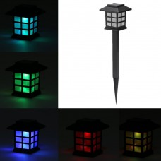 Solar Powered LED Lantern 0.2W 10LM Light Sensing Rechargeable IP55 Water-resistant Garden Landscape Yard Lawn Balcony Outdoor Use Multicoloured