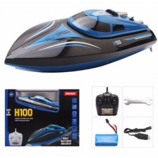 H100 2.4G High Speed RC Remote Control Boat 4 CH Racing Speed Boat With LCD Display Toy Ship