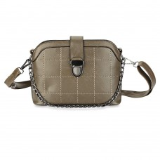Guapabien PU Leather Hasp Closure Chain Bag for Women
