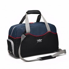 Gym Sports Handbag Travel Weekender Duffel Bag with Touch Fastener Handle